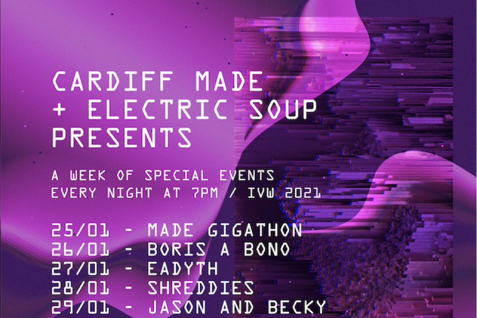Electric Soup Independent Venue Week line up poster