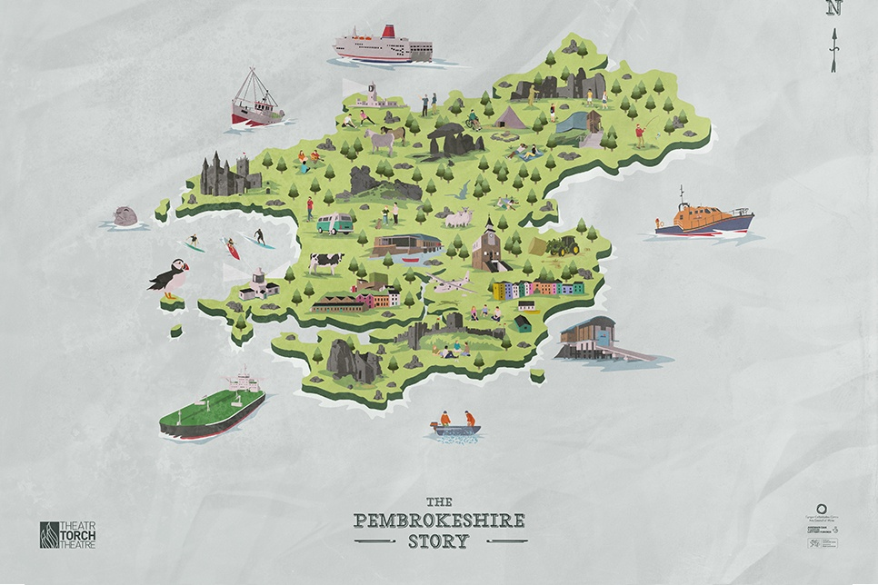 Illustration of Pembrokeshire